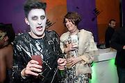 HENRY HOLLAND; ALEX EAGLE; AS ANNA WINTOUR;, Browns Focus Halloween party. Shepherds Bush pavilion. Shepherds Bush. London. 30 October 2009