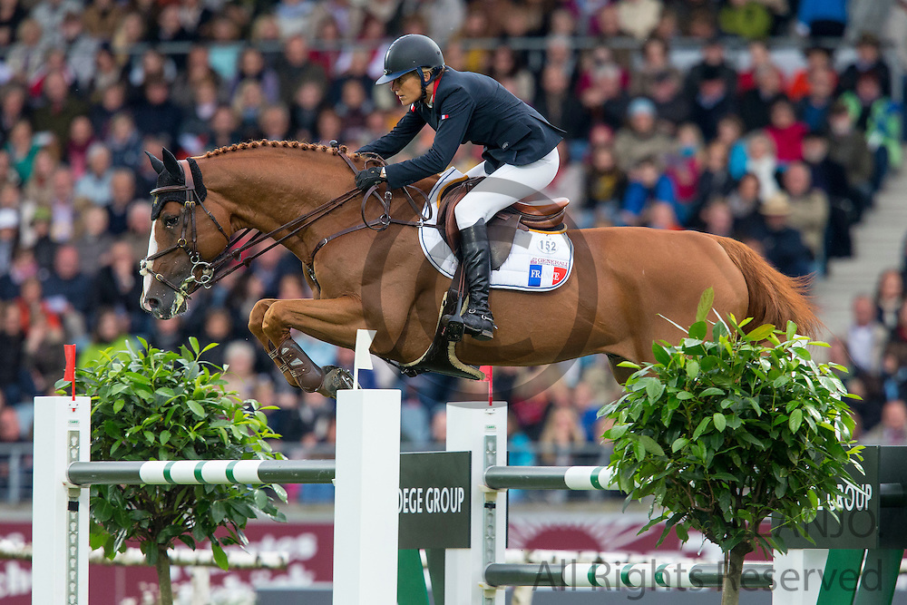 Eugenie Angot - Old Chap Tame<br /> World Equestrian Festival, CHIO Aachen 2013<br /> © DigiShots