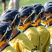 Drexel reserves players watch the game from the sidelines  in the second half of The NCAA Division I Men's Lacrosse Tournament game between the No. 5 seed Denver and No. 12 ranked Drexel Sunday, May. 18, 2014 at Delaware Stadium in Newark, DEL