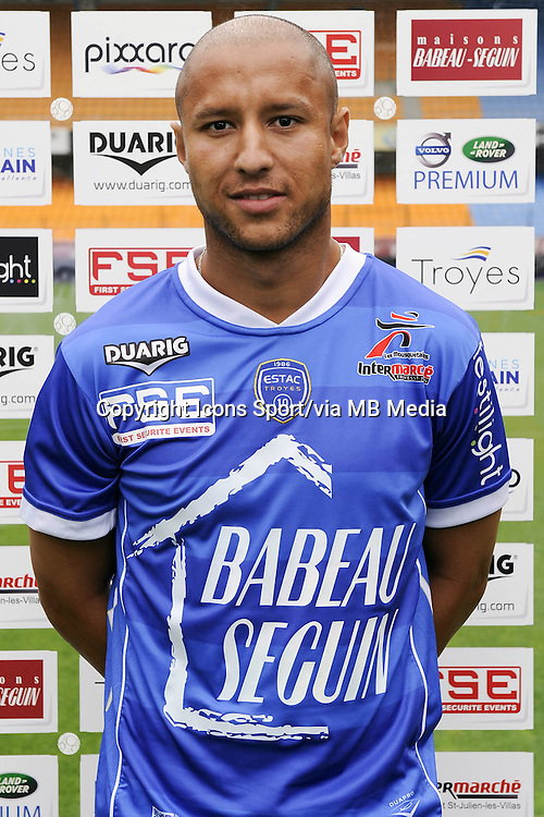 Xavier THIAGO - 11.09.2013 - Photo Officielle - Troyes<br /> Photo : Icon Sport