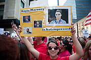 The Chicago Teachers Union rally at CPS Headquarters on September 11, 2012.