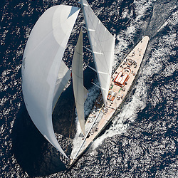 """Following the 156"""" sloop Hyperion in 1999 and the classic 295"""" schooner Athena in 2004, Dr Jim Clark has reaffirmed his confidence in Royal Huisman engineering by placing a third, highly distinctive order with the yard. Dr Clark""""s latest commission is a modern recreation of Tommy Sopwith""""s beautiful 41.3m/135.5"""" """"Super-J"""" class yacht, Endeavour II.<br /> <br /> Interest in these legendary racing yachts has grown apace, with a number of restorations including the smaller Endeavour by Royal Huisman in 1989; the recreation of Ranger in 2006 and of W. Starling Burgess""""s Rainbow; and even some new projects to bring to life period designs that have remained on the drawing board until now. Under J-Class Association rules, some design features are restricted historically, but performance can be optimised through a more flexible approach to sail area, ballast ratio, righting moment and build materials. As a result, Dykstra Naval Architects have overseen the build of Endeavour II""""s hull in Alustar, with spars and rig in carbon composite to create a yacht that should demonstrate the full potential of Charles E Nicholson""""s original design. To further this ambition, Royal Huisman have been working with the naval architects, the independent Carew Group, master sailmakers North Sails and spar makers Rondal to create the optimum mast and sail configuration as, in effect, a single wing unit."""