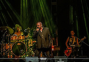 Alphaville performing their greatest hit &quot;Forever Young&quot; at Cancun 2016<br /> Marian Gold - Vocals<br /> Jakob Kiersch - Drums<br /> Alexandra Merl - Bass (2016&ndash;present)