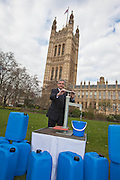 Jim Fitzpatrick MP. Marking World Water Day, over 40 MP's walked for water at Westminster, London at an event organised by WaterAid and Tearfund. Globally hundreds of thousands of people took part in the campaign to raise awareness of the world water crisis.