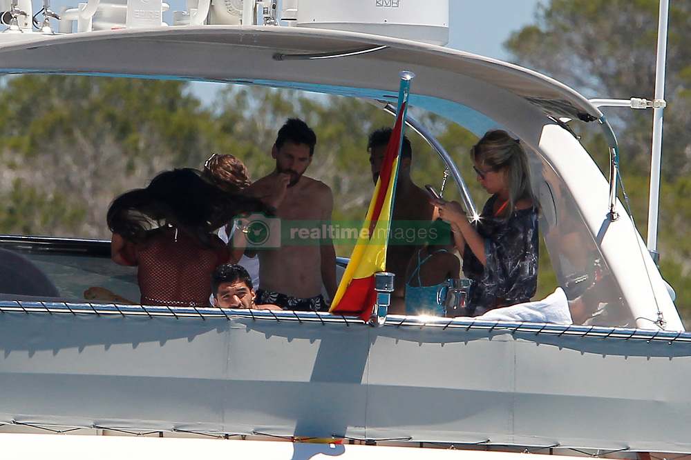 Leo Messi and Cesc Fabregas enjoy together with their families a day of boat in Formentera (Balearic Islands)<br /> <br />12 June 2017.<br /><br />Please byline: Vantagenews.com