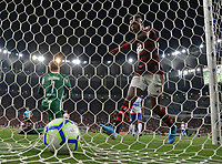 2019-11-10 Rio de Janeiro, Brazil soccer match between the teams of Flamengo and Bahia , validated by the Brazilian Football Championship .in the photo Bruno henrique of Flamengo  club celebrates his goal Photo by André Durão / Swe Press Photo