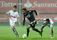 Sporting's player Bryan Ruiz controls the ball during the Portuguese First League football match Nacional vs Sporting held at Madeira Stadium, Funchal, Portugal, 13 February, 2016.  LUSA / GREGÓRIO CUNHA