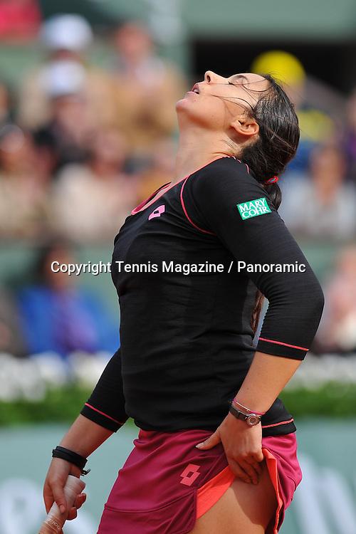 Marion Bartoli (Fra), TENNIS : Roland Garros 2013 - Internationaux de France - ATP ou WTA - <br /> 28/05/2013