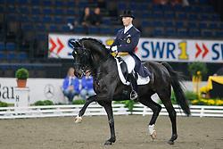 Devroe Jeroen (BEL) - Apollo vh Vijvershof<br /> CDI-W Stuttgart German Masters 2009<br /> Photo© Dirk Caremans