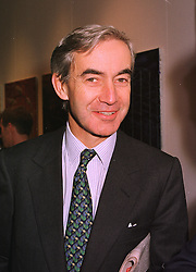 MR JAMES HAMBRO a member of the banking family, at an exhibition in London on 26th October 1998.MLF 31