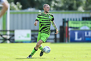 Forest Green Rovers Carl Winchester(7) during the EFL Sky Bet League 2 match between Forest Green Rovers and Colchester United at the New Lawn, Forest Green, United Kingdom on 14 September 2019.