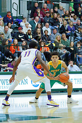 25 November 2017: Intercity Boys Basketball game between the Bloomington Raiders and the Normal UHigh Pioneers at Shirk Center in Bloomington Illinois