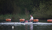 Caversham. Berkshire. UK<br /> ASM M1X. Tom AGGAR, sculling during the 2016 GBRowing, Para Rowing Media Day, UK GBRowing Training base near Reading, Berkshire.<br /> <br /> Friday  15/04/2016<br /> <br /> [Mandatory Credit; Peter SPURRIER/Intersport-images]