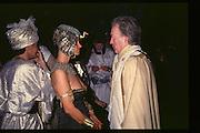 Fancy dress party at Christies, 1984  approx© Copyright Photograph by Dafydd Jones 66 Stockwell Park Rd. London SW9 0DA Tel 020 7733 0108 www.dafjones.com