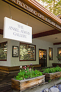The Ansel Adams Gallery, Yosemite National Park, California USA