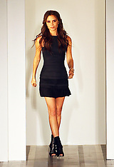 Victoria Beckham show at New York fashion week S/S 2013