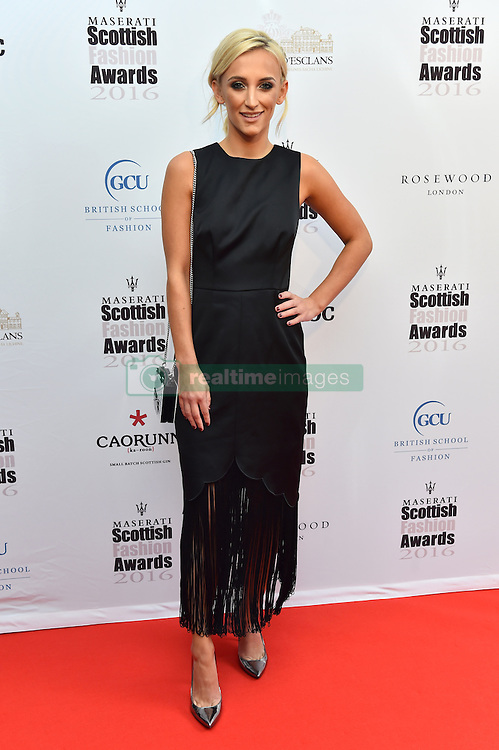 Tiffany Watson attending the Scottish Fashion Awards, at the Rosewood Hotel in London. Picture date: Friday October 21, 2016. Photo credit should read: Matt Crossick/ EMPICS Entertainment.