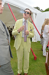 NICK FOULKES at the Cartier Queen's Cup Final polo held at Guards Polo Club, Smith's Lawn, Windsor Great Park, Egham, Surrey on 15th June 2014.