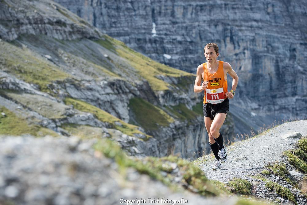 Hannes Rungger am 21. Jungfrau-Marathon 2013