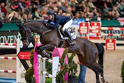 LÜNEBURG Rasmus (GER), Corniola<br /> Leipzig - Partner Pferd 2019<br /> IDEE Kaffe Preis<br /> CSI5*<br /> 18. Januar 2019<br /> © www.sportfotos-lafrentz.de/Stefan Lafrentz