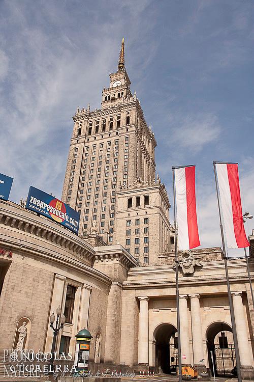 Le Palais de la culture et des sciences, symbole du communisme