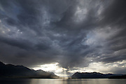 Chilko Lake clouds