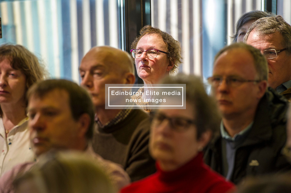 Pictured: <br /> Scottish launch of the campaign for people across the UK to have the final say on Brexit in a 'People's Vote'. Moderated by the incoming chair of the Chair of the European Movement in Scotland, Mark Lazaowicz, speakers included Dr Kirsty Hughes, director of the Scottish Centre on European Relations; Georgie Harris, Vice President Community of the University of Edinburgh Studenst Association and John Edward, former head of the European Parliament Office in Scotland. <br /> <br /> Ger Harley | EEm Date