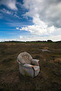 Abandoned Chair at low tide, Bull Island, Dublin