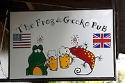 Hat Bo Phut (beach). The Frog and Gecko Pub.