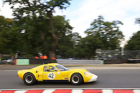 HSCC Gold Cup Oulton Park, Cheshire, United Kingdom.  28th-29th August 2011.  Race 6 HSCC Guards Trophy Race A Sports Racing Cars. 42 Nick Fleming Chevron B8. World Copyright: Peter Taylor/PSP. Copy of publication required for printed pictures. Every used picture is fee-liable.
