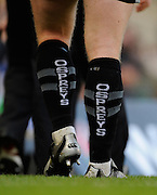Twickenham, GREAT BRITAIN,  Ospreys'  Ian GOUGH, walks off,  during the EDF Energy Cup Final rugby match,  Leicester Tiger vs Ospreys, at Twickenham Stadium, Surrey on Sat 12.04.2008 [Photo, Peter Spurrier/Intersport-images]
