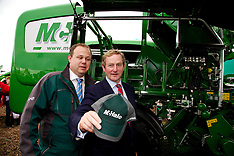 Taoiseach Enda Kenny at McHale at The National Ploughing Championships 2014.