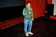 BUSSUM - In theater het Spant is de persviewing van The Voice Of Holland gehouden.  Met op de foto coach Roel van Velzen. FOTO LEVIN DEN BOER - PERSFOTO.NU