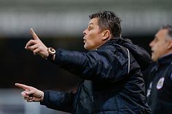 Bristol City Manager Steve Cotterill gestures - Photo mandatory by-line: Rogan Thomson/JMP - 07966 386802 - 28/11/2014 - SPORT - FOOTBALL - Peterborough, England - ABAX Stadium - Peterborough United v Bristol City - Sky Bet League 1.