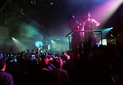 Crowd at a rave, ELEVATION CLUN U.N, 23 MARCH 1996