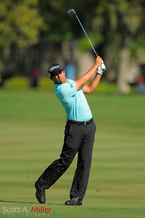 Martin Flores during the second round of the Arnold Palmer Invitational at the Bay Hill Club and Lodge on March 23, 2012 in Orlando, Fla. ..©2012 Scott A. Miller.