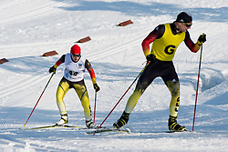 HOSCH Vivian Guide: SCHILLINGER F, GER, Long Distance Cross Country, 2015 IPC Nordic and Biathlon World Cup Finals, Surnadal, Norway