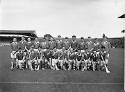 10/09/1961<br /> 09/10/1961<br /> 10 September 1961<br /> All-Ireland Junior Home Final: Kerry v Meath at Croke Park, Dublin.<br /> Meath team.