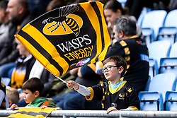 Wasps fans - Mandatory by-line: Robbie Stephenson/JMP - 12/10/2019 - RUGBY - Ricoh Arena - Coventry, England - Wasps v Worcester Warriors - Premiership Rugby Cup