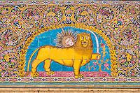 Iran, Teheran, Palais du Golestan, Patrimoine mondial de l'UNESCO,  // Iran, Tehran, Golestan Palace, World Heritage of the UNESCO, tiled decorations