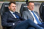 NIJMEGEN- 07-05-2017, NEC - AZ,  Stadion De Goffert, 2-1, Assistent trainer Dennis Haar, AZ trainer John van den Brom