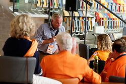 21-09-2019 NED: EC Volleyball 2019 Netherlands - Germany, Apeldoorn<br /> 1/8 final EC Volleyball / Joop Alberda, workshop