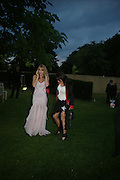 tanit Phoenix and Victoria Smirnova. The Serpentine Summer party co-hosted by Jimmy Choo. The Serpentine Gallery. 30 June 2005. ONE TIME USE ONLY - DO NOT ARCHIVE  © Copyright Photograph by Dafydd Jones 66 Stockwell Park Rd. London SW9 0DA Tel 020 7733 0108 www.dafjones.com