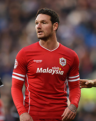 Cardiff City's Sean Morrison - Photo mandatory by-line: Paul Knight/JMP - Mobile: 07966 386802 - 28/12/2014 - SPORT - Football - Cardiff - Cardiff City Stadium - Cardiff City v Watford - Sky Bet Championship