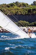 Surprise, Herreshoff S Class, sailing in the Museum of Yachting Classic Yacht Regatta.