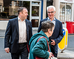 Former Chancellor Alistair Darling campaigning in Edinburgh in the run up to the 2017 General Election with local labour candidate Ian Murray, on the 20 year anniversary of Labour's historic 1997 landslide General Election victory.<br /> <br /> &copy; Dave Johnston/ EEm
