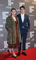 Glasgow Film Festival 2019<br /> <br /> The UK Premiere of The Vanishing<br /> <br /> Pictured: Aimee Lou Wood and Connor Swindells <br /> <br /> (c) Aimee Todd | Edinburgh Elite media
