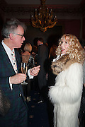 ANDREW BARROW; BASIA BRIGGS, The Literary Review Bad Sex fiction award 2012. The In and Out Club, 4 St. james's Sq. London. 4 December 2012