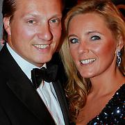 NLD/Noordwijk/20110625 - Orange Babies Gala 2011, David Bijlsma en partner Ghitta