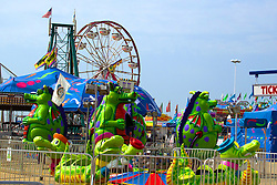 01 August 2014:   McLean County Fair. Amusement rides